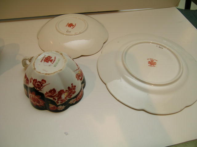 Wileman China Fairy Japan trio