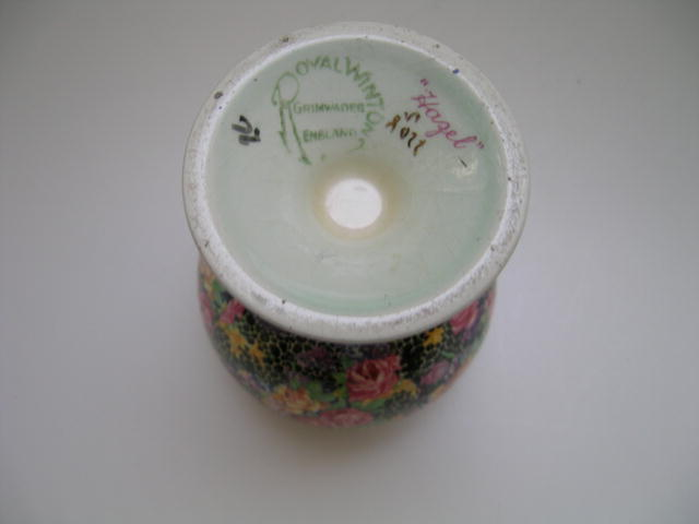 Royal Winton Chintz Hazel Vase