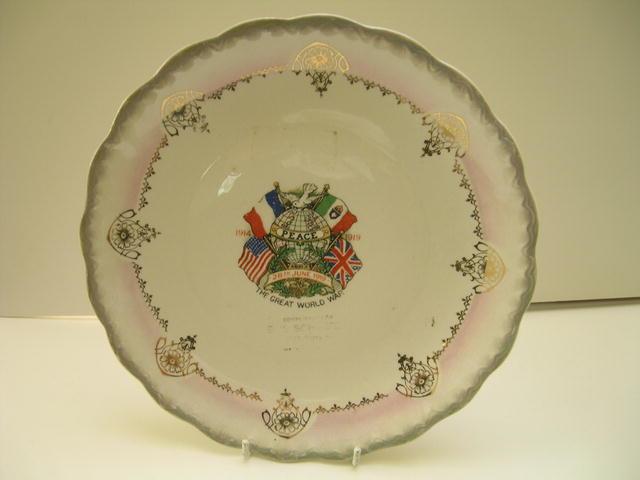 Commemmorative Plate World War I