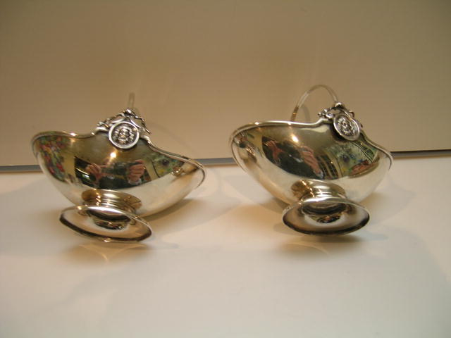 Early Gorham Sterling Silver Sweet Baskets