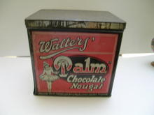 Walter's Palm Chocolate Nougat tin