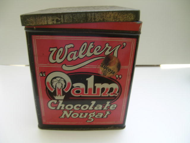 Walter's Palm Chocolate Nougat tin