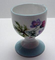 Shelley Wildflowers Egg Cup
