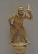 Celluloid Clown Carved Letter Opener