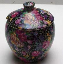 Royal Winton Chintz Hazel Jam Pot