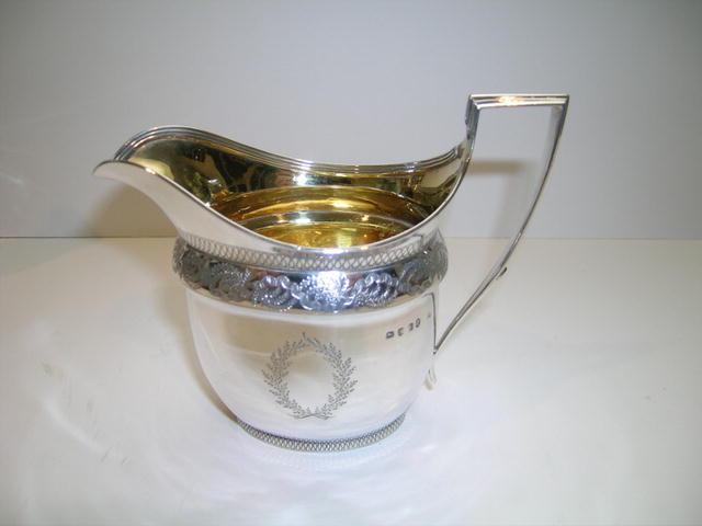 George III Cream Jug London 1800