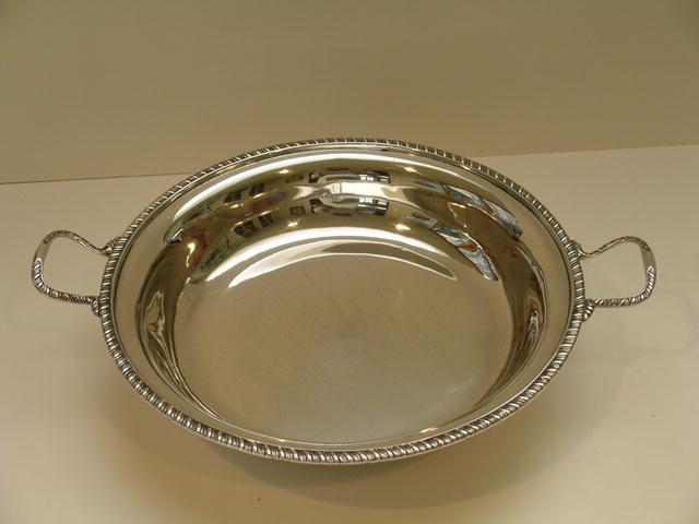 George III Sterling Silver Covered Dish London