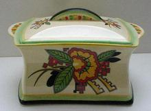 Royal Winton Deco Biscuit Barrel