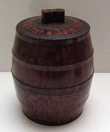 Bakelite Vintage Tobacco Barrel Humidor