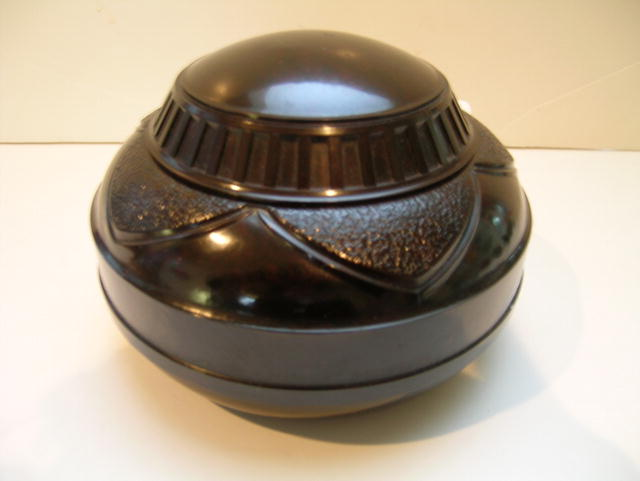 Bakelite English Vintage Tobacco Box