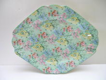 Shelley Melody Chintz Serving Platter