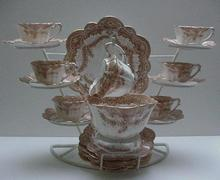 Wileman-Shelley Fern Empire 21 Piece Teaset
