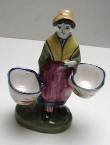 Quimper Figural Salts