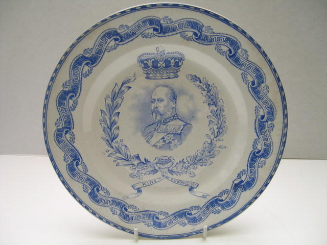 Commemorative King Edward VII Plate