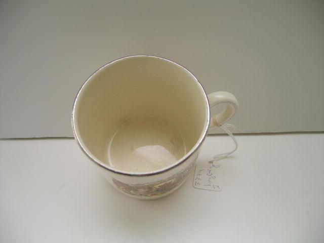 George V Silver Jubilee Mug