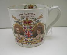 George V Coronation Cup -Shelley China