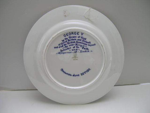 Wedgwood Large  King George V Plate