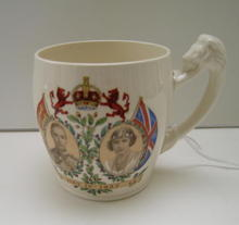 King George VI Coronation Mug