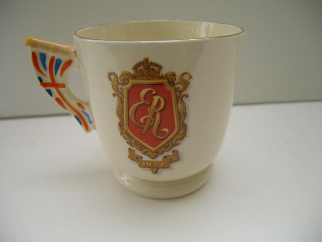 Edward VIII Deco Coronation Mug