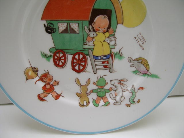 Shelley  Mabel L. Attwell Child's Plate
