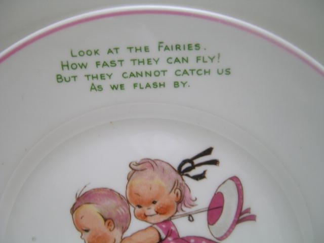 Shelley Mabel Lucie Attwell Child's Plate