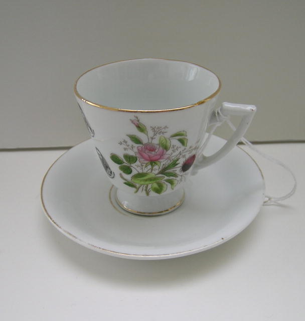 Queen Victoria Commemorative Cup and Saucer
