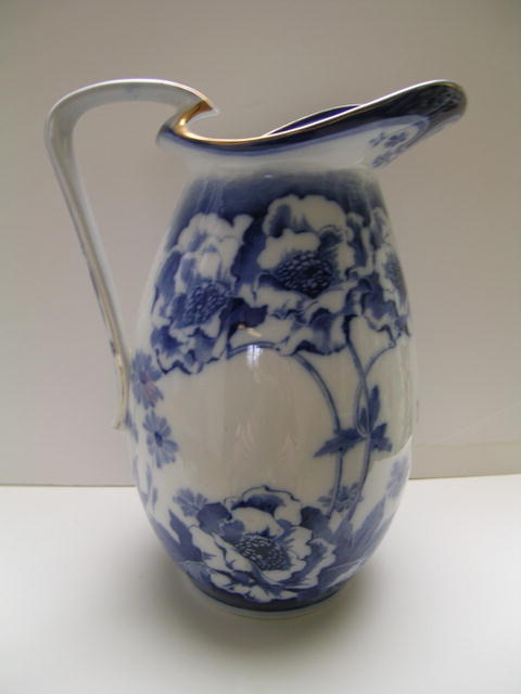 Royal Doulton Flo Blue Large Pitcher