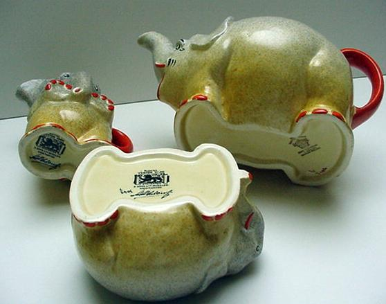 Royal Venton Children's Elephant Tea Set