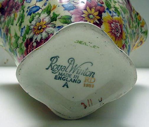 Royal Winton Cheadle Basket