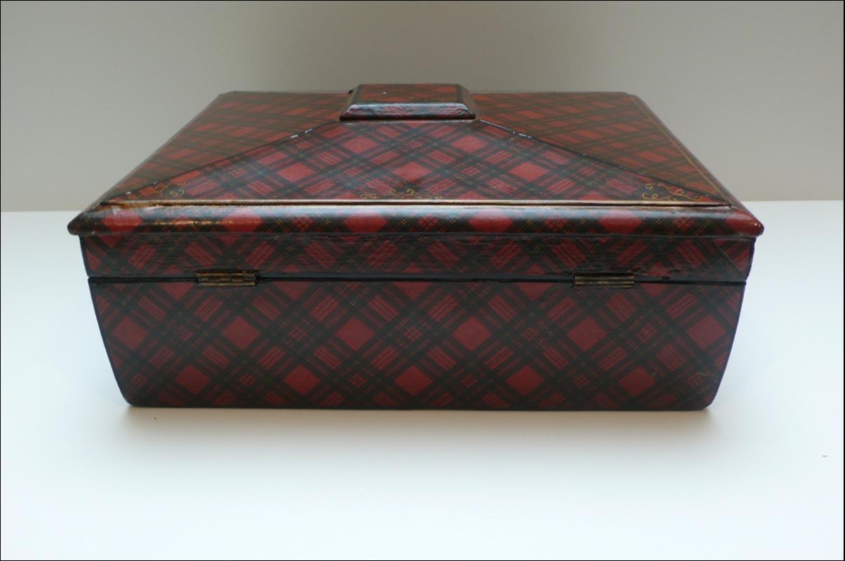 Victorian Tartan Box