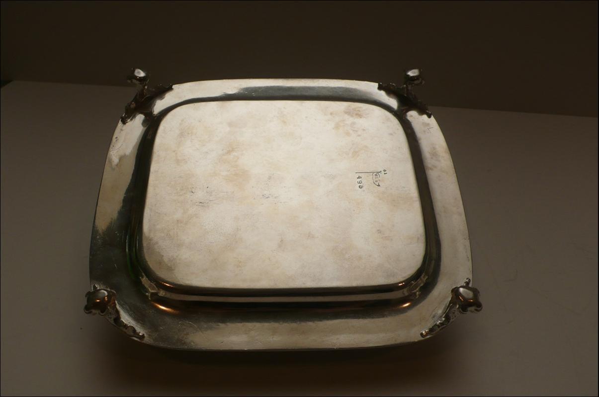 Victorian silver plate sardine boxv
