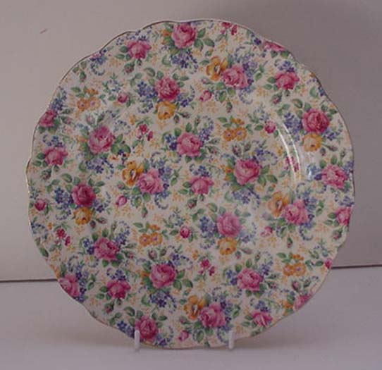 James Kent Chintz Rosalynde Plate