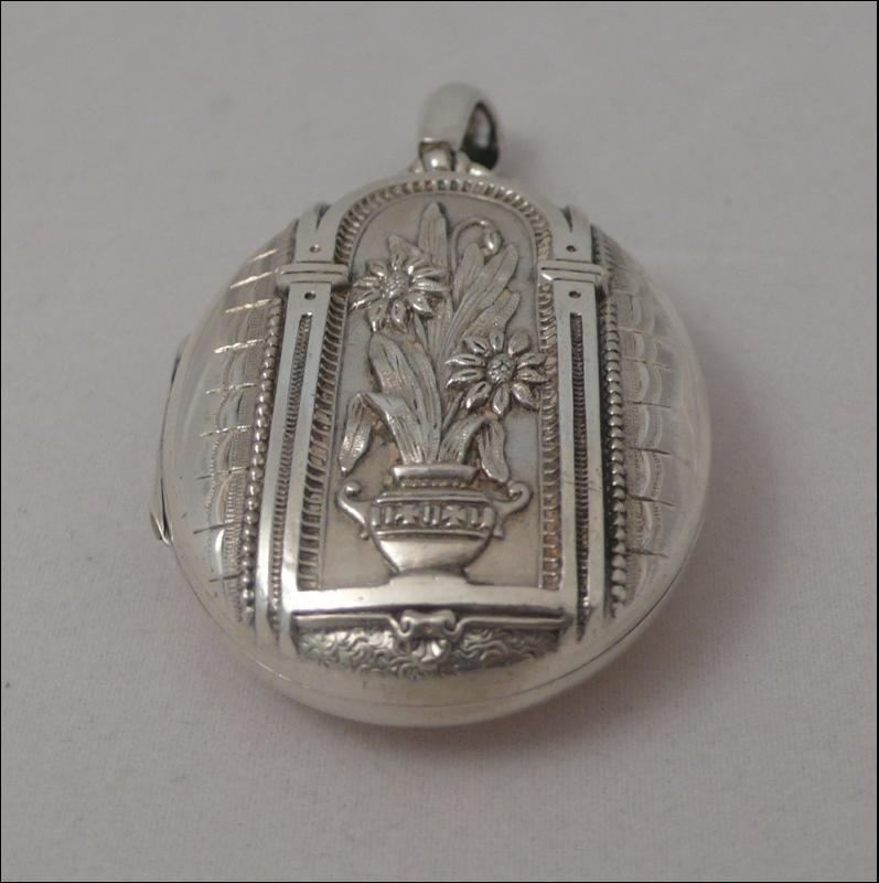 Victorian Silver Locket