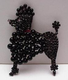 Costume: Butler and Wilson Black Poodle Brooch
