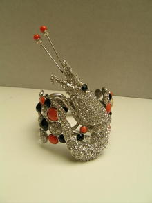 Fabulous Chunky Lobster Hinged Bracelet