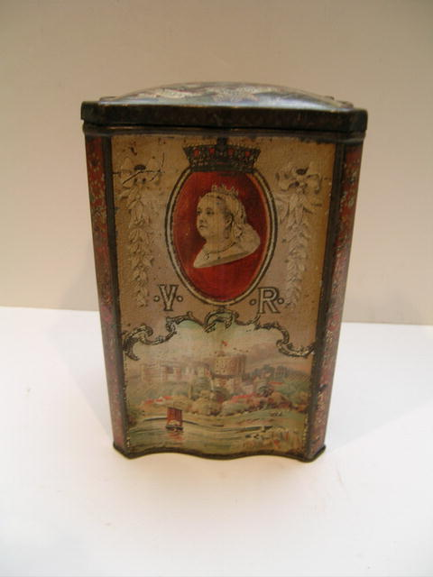 Queen Victoria Collector's Biscuit Tin