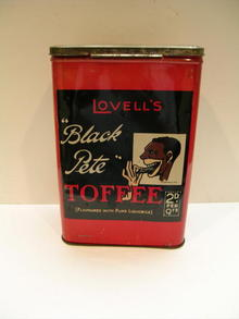 English Black Pete Toffee Tin