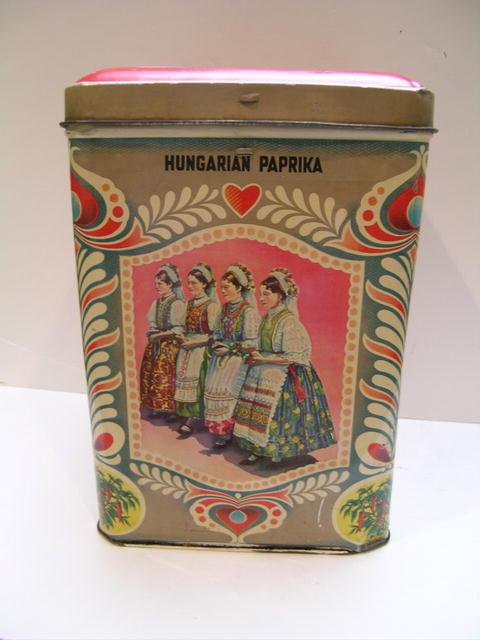 Hungarian Paprika Tin