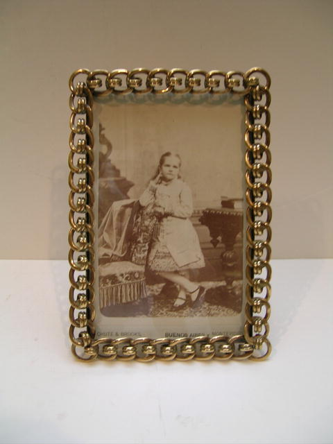 Victorian Brass Frame