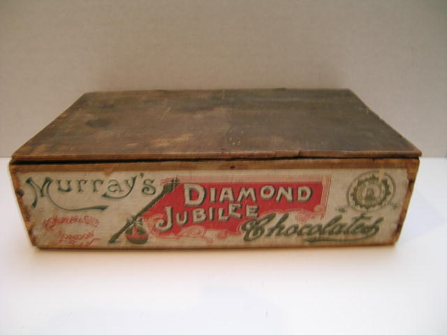 Murray's Diamond Jubilee Chocolates Wooden Box