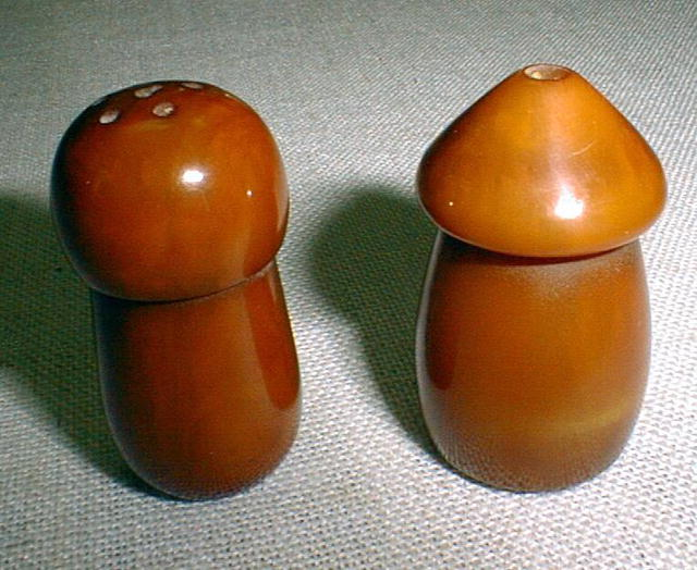 Bakelite Salt and Pepper