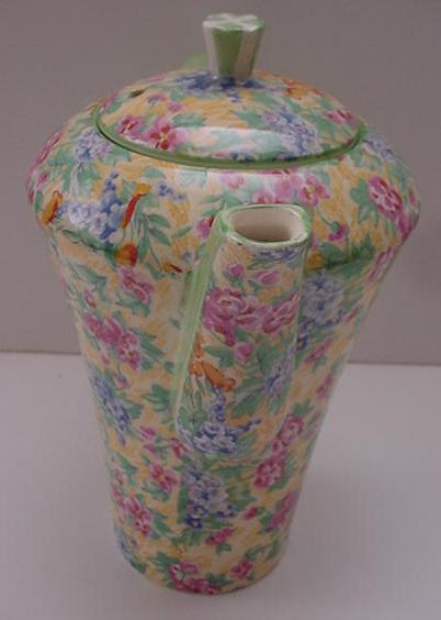 Barker Brothers Chintz Coffee Pot