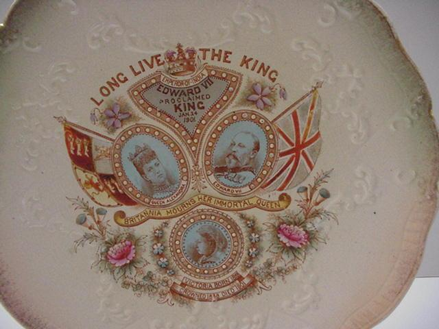 Commemorative Proclamation Plate: Edward VII