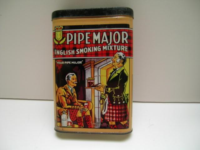 Pipe Major English smoking Mixture Tin