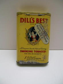 Dill's Best Smoking Tobacco Tin