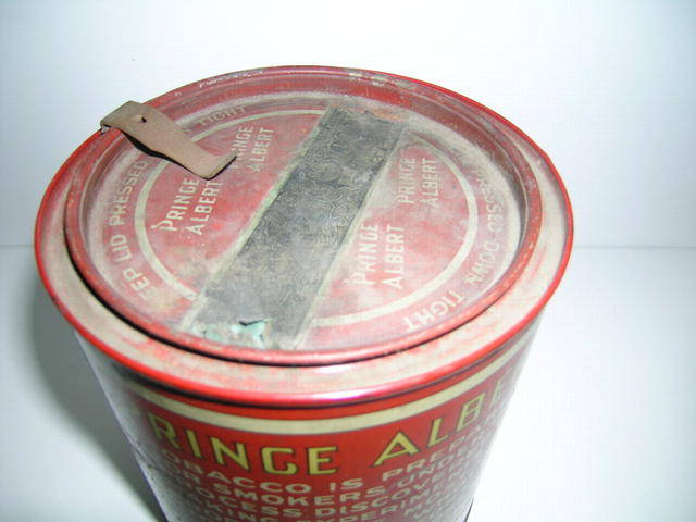 Prince Albert Pipe And Cigarette Tobacco Tin