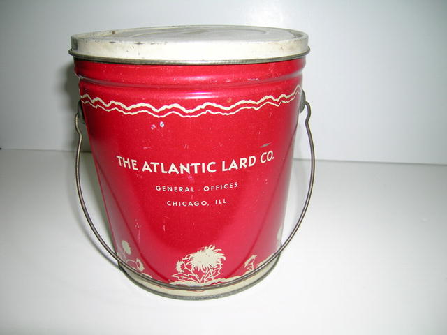 Royal Aster Shortening Advertising Tin