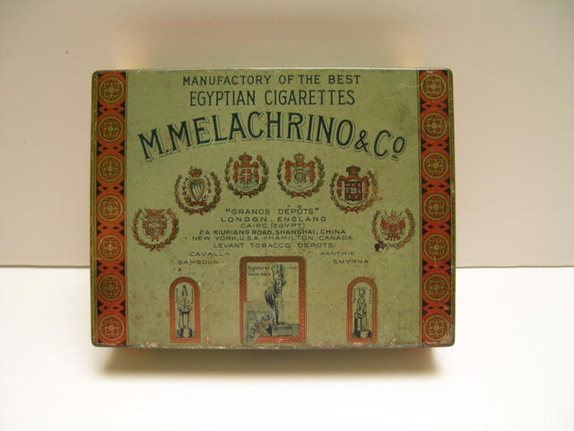 M.Melachrino & Co. Egyptian Cigarettes Tin