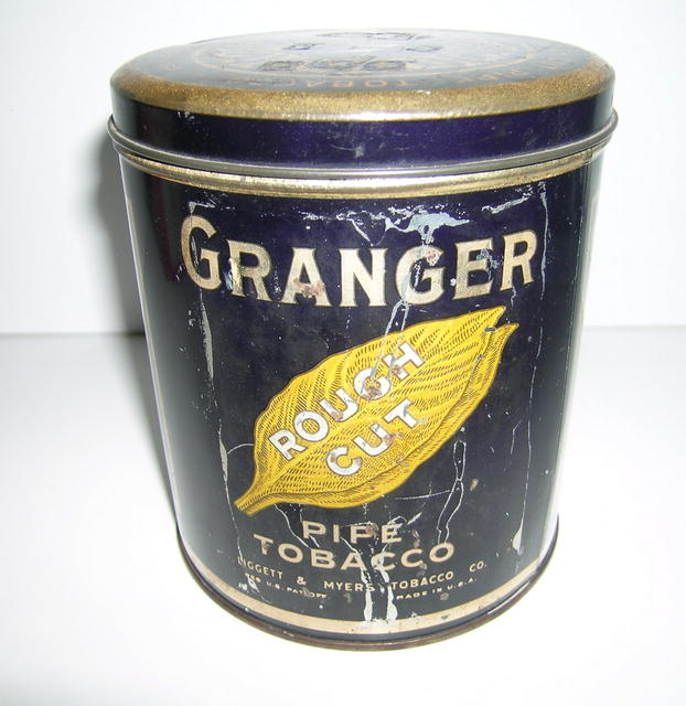 Granger Pipe Tobacco Tin