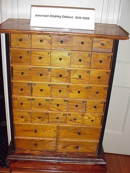 American Pharmaceutical Display Cabinet